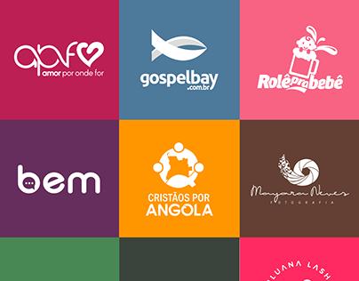 LOGOFÓLIO - Logotipos desenvolvidos entre 2017 e 2020