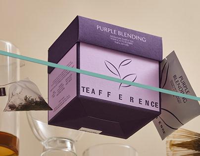 teafference tea brand design