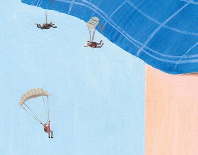 Migas paracaidistas