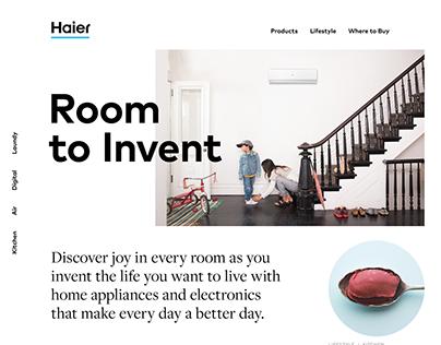 Haier America website
