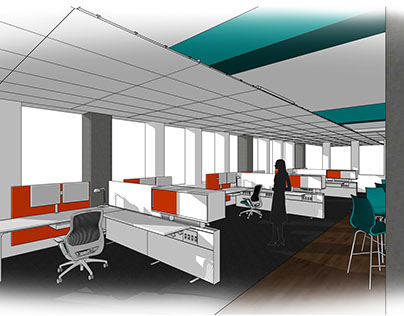 Interior Design Office Space