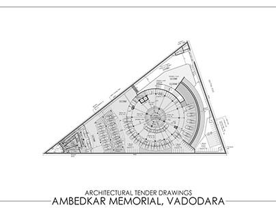Architectural Tender Drawings   Ambedkar Memorial  