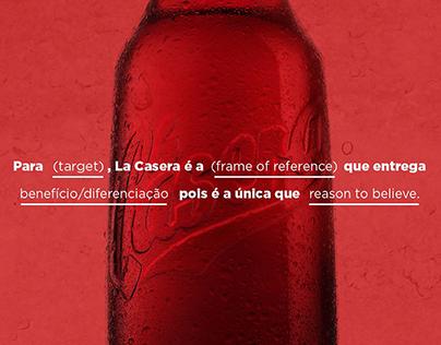 Brand strategy - La Casera