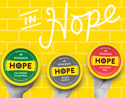 HOPE Foods Identity and Collateral