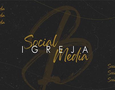 Social Media Igreja - Fevereiro