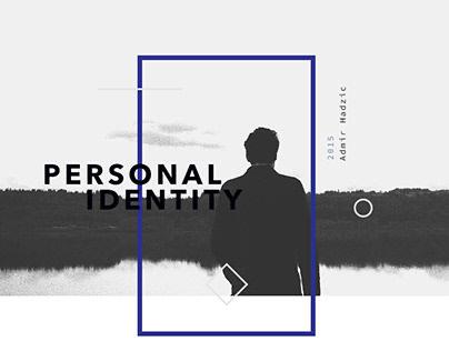 Personal Portfolio — Brand Identity