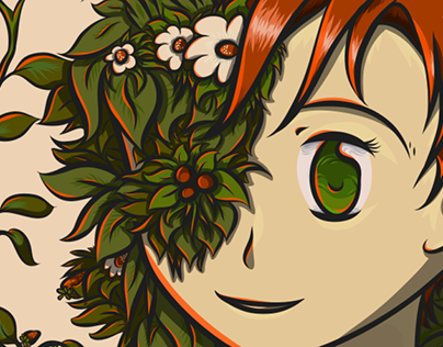 Berry Girls / Adobe Illustrator Draw