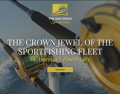 Sport Fishing Website - The San Diego