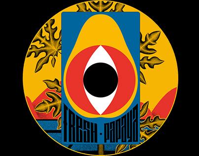 Fresh Papaya brand for music band [Redesign]