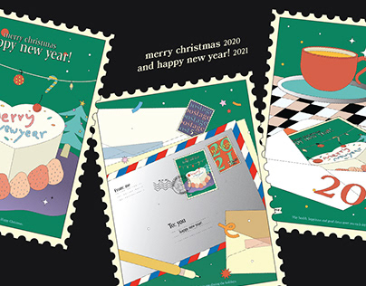 ✿ happy new year! ✿ 2021 greeting card!​​​​​​​