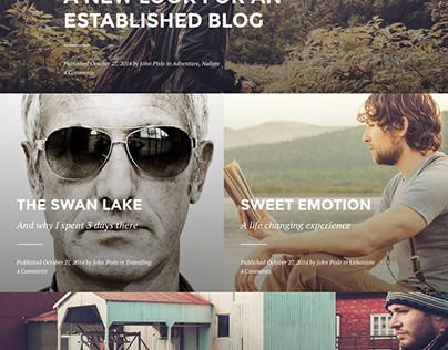 Blink - A WordPress blogging theme