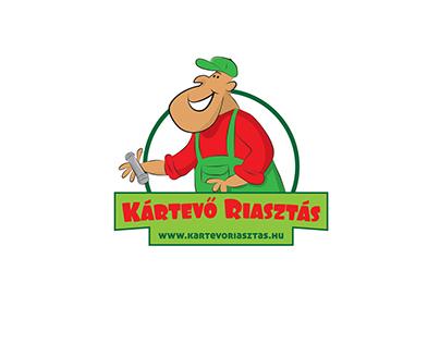 Hand drawn logo & website design