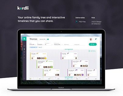 Kordli Web App. Discovering, preserving and sharing.