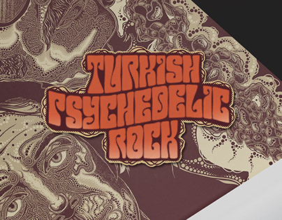 Turkish Psychedelic Rock record design