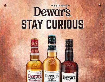 Dewar's - Stay Curious
