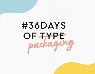 #36daysofpackaging