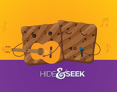Hide and Seek - Social media