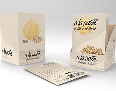a la Paste - Single serving food paste for recipes