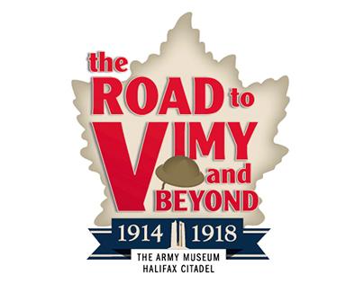 Road to Vimy Logo
