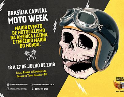 Ilustração Página Dupla Moto Week