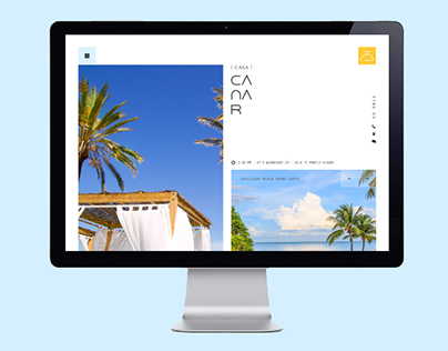 Casa Canar, Website