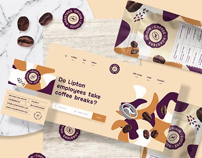 Origin Roasters - Speciality Coffee Branding