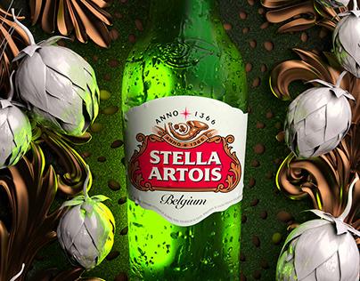 Stella Artois Lager - Noire
