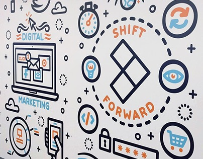 Shift Forward Wall Art and T-Shirt