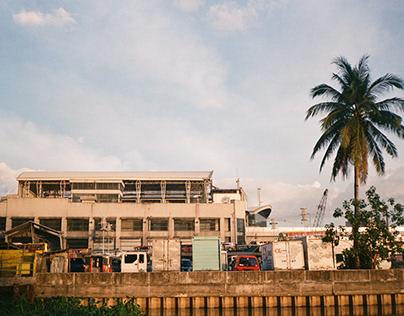 Escolta Street in 35mm Film