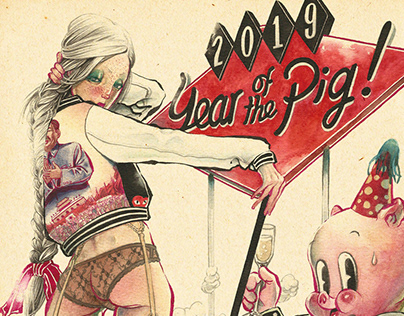 Happy 2019, Year of the Pig!