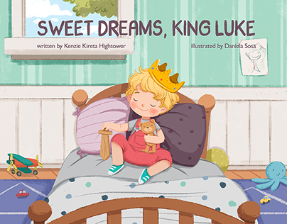Sweet dreams, King Luke - children's book