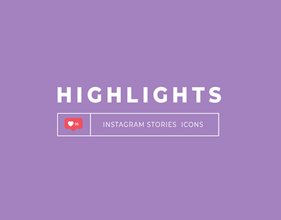 Highlights icons