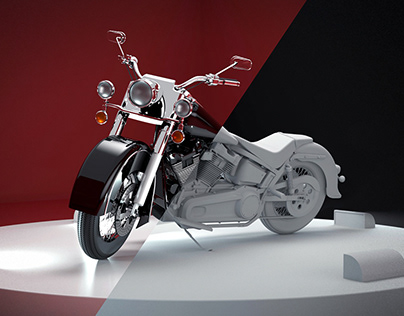 CGI/3D - Motorcycle