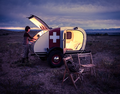 Vintage Overland - Adventure Travel Trailer