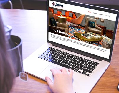 Jams Painting & Service - website