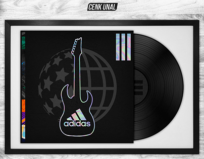 Rock Bands x Adidas Football
