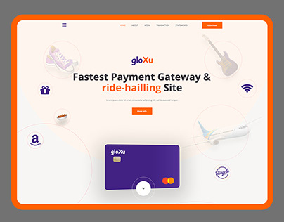 Payment Gateway Landing Page Design