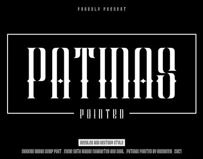 Patinas Pointed