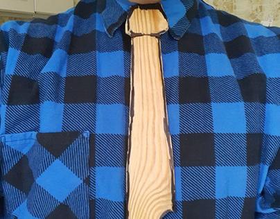 Wooden tie / Дерев'яна краватка