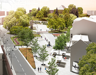 IIPrize for concepual design of Krofeya Square in Bytów