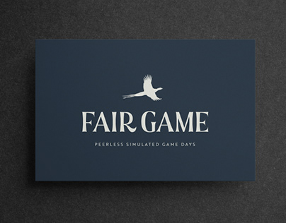 Logo Design and Brand Identity - Fair Game