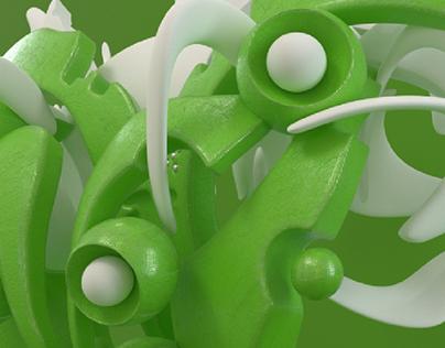 Biomorphic green