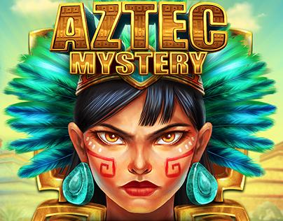 Aztec Mystery - POP!Slots Game Art