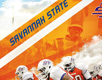 2014 Savannah State Football Poster