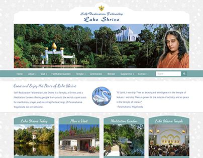 New Website for Self-Realization Fellowship Lake Shrine