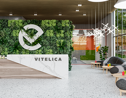 Vitelica Store and Office Design Concept
