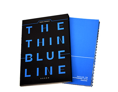 THIN BLUE LINE : DVD Packaging