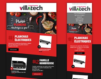 Newsletter Responsive - Webdesign