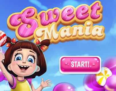 Candy Match 3 Full Game Art Pack for SALE