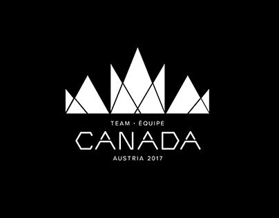 2017 Special Olympics - Official Team Canada Logo